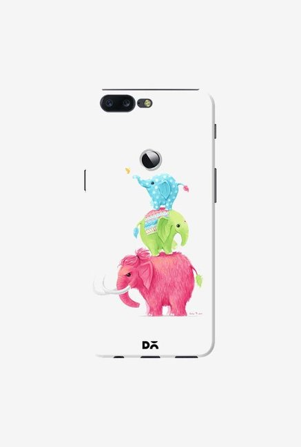 DailyObjects Candy Elephants Case Cover For OnePlus 5T