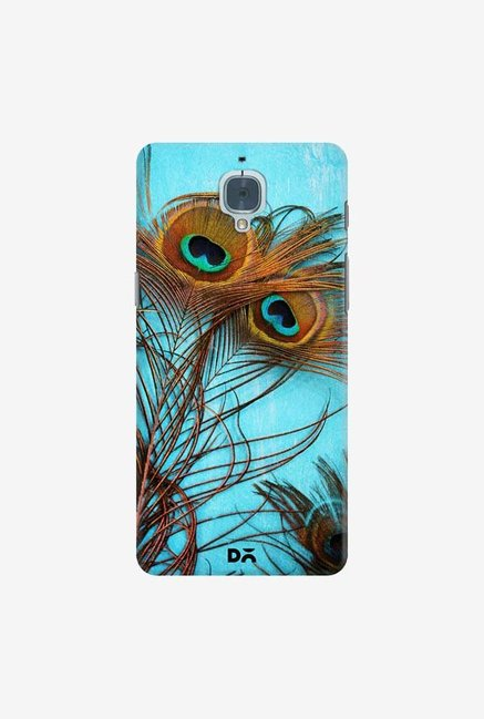 DailyObjects 3 Peacock Feathers Case For OnePlus 3T