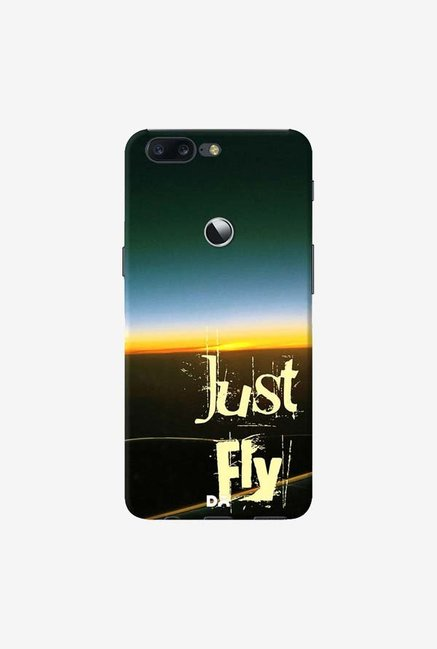 DailyObjects Just Fly Case Cover For OnePlus 5T