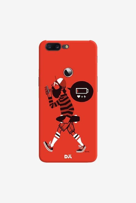 DailyObjects Lowbat Case Cover For OnePlus 5T
