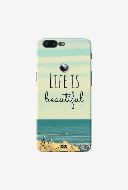 DailyObjects Life Is Beautiful Case Cover For OnePlus 5T