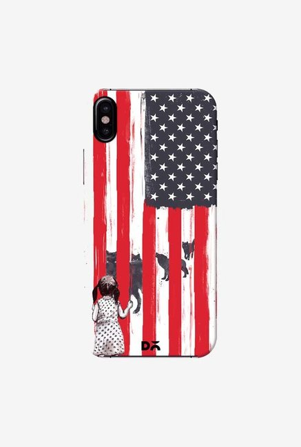 DailyObjects Little Girl And Wolves Case Cover For iPhone XS