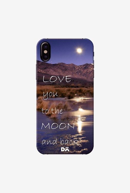 DailyObjects Love You Case Cover For iPhone XS