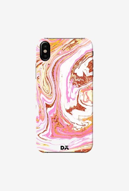 DailyObjects Marble Copper Dust Case Cover For iPhone XS