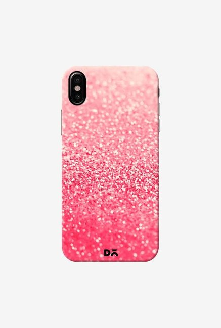 DailyObjects Gatsby Coral Case Cover For iPhone XS