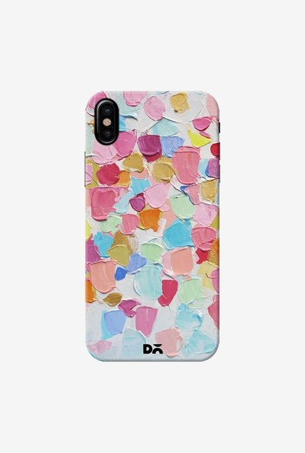 DailyObjects Amoebic Confetti Case Cover For iPhone XS