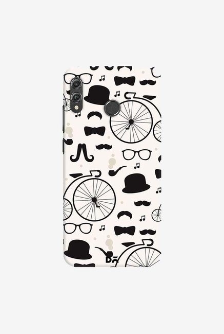 DailyObjects Hipster icons Case Cover For Huawei Honor 8X