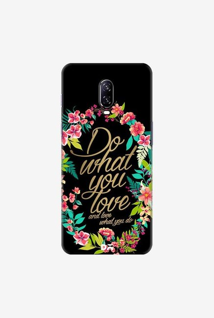 DailyObjects And Love What You Do Case Cover For OnePlus 6T