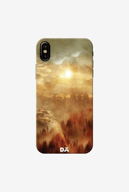 DailyObjects Lonely Mountains Case Cover For iPhone XS