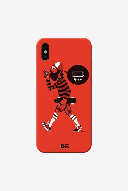 DailyObjects Lowbat Case Cover For iPhone XS