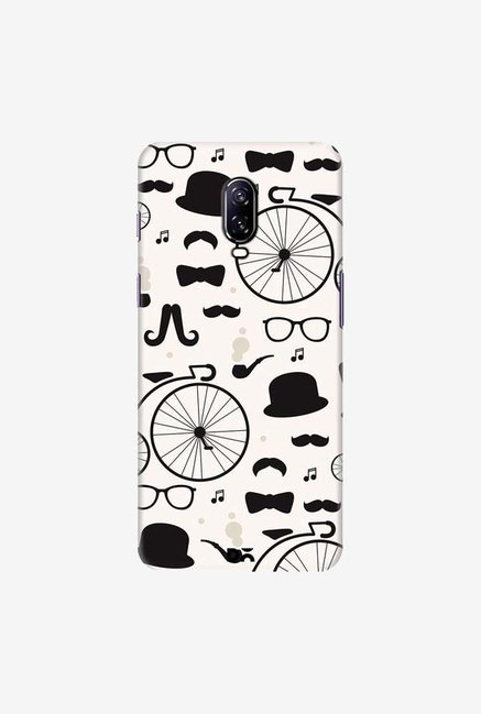 DailyObjects Hipster icons Case Cover For OnePlus 6T
