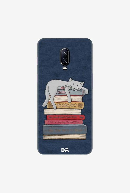 DailyObjects How to Chill Like A Cat Case Cover For OnePlus 6T