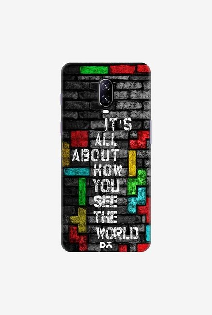 DailyObjects How You See The World Case Cover For OnePlus 6T