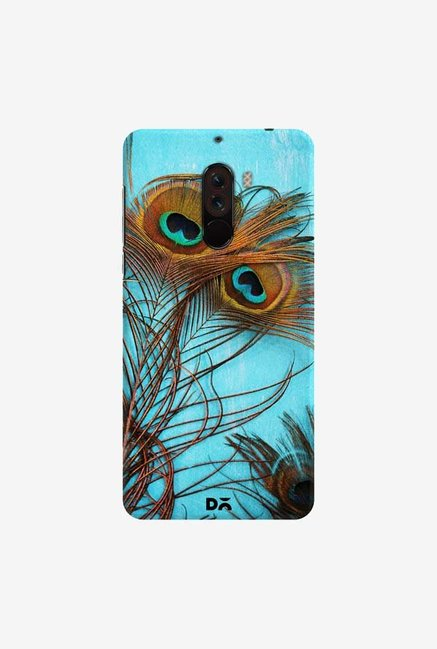 DailyObjects 3 Peacock Feathers Case Cover For Xiaomi Poco F1