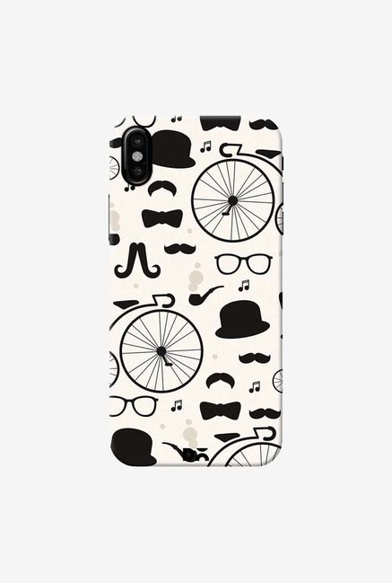 DailyObjects Hipster Icons Case Cover For iPhone XS