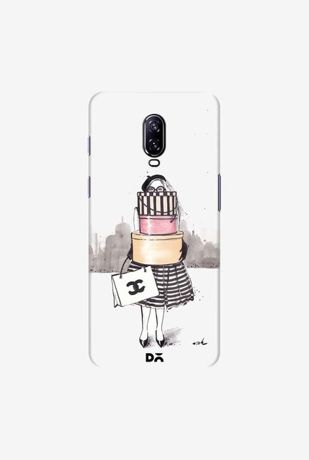 DailyObjects Shopping Junkie Case Cover For OnePlus 6T