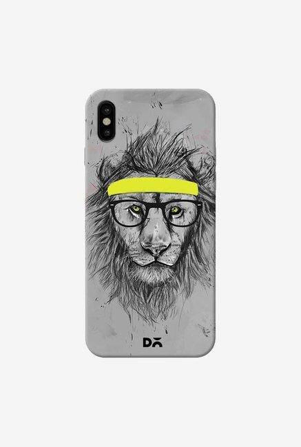 DailyObjects Hipster Lion Case Cover For iPhone XS