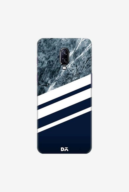 DailyObjects Marble Navy Case Cover For OnePlus 6T