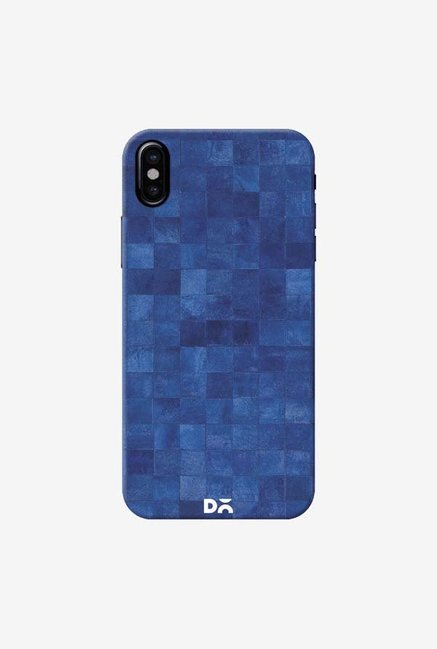 DailyObjects Inked Blue Case Cover For iPhone XS