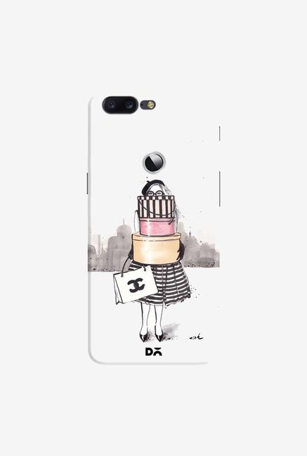 DailyObjects Shopping Junkie Case Cover For OnePlus 5T