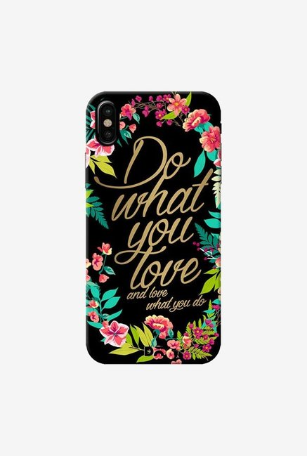 DailyObjects And Love What You Do Case Cover For iPhone X