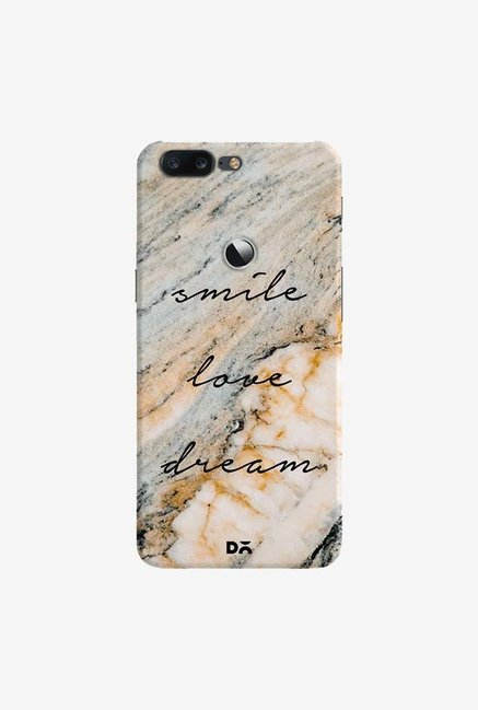 DailyObjects Smile Love Dream Case Cover For OnePlus 5T