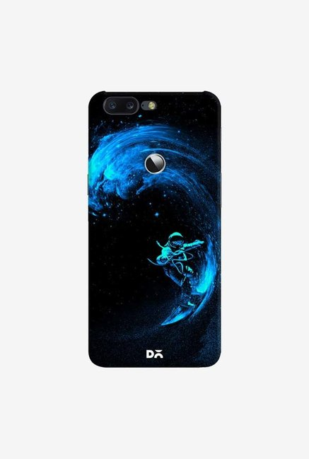 DailyObjects Space Surfing Blue Case Cover For OnePlus 5T