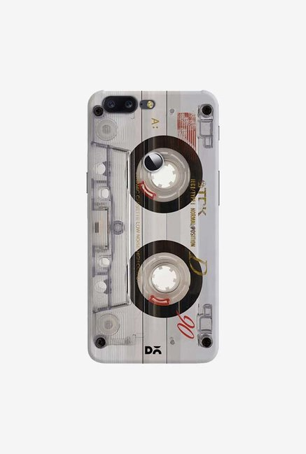 DailyObjects Transparent Cassette Case Cover For OnePlus 5T
