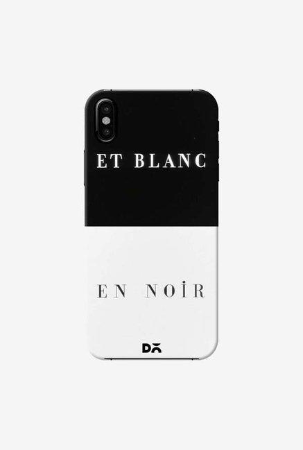 DailyObjects Et Blanc En Noir Case Cover For iPhone XS