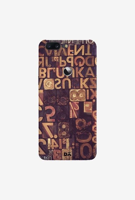 DailyObjects Typecase Case Cover For OnePlus 5T