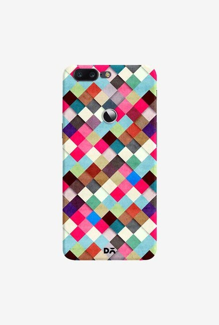 DailyObjects Ubrik Checker Case Cover For OnePlus 5T