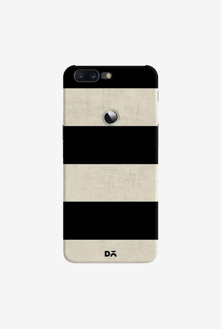 DailyObjects Vintage Black Stripes Case Cover For OnePlus 5T