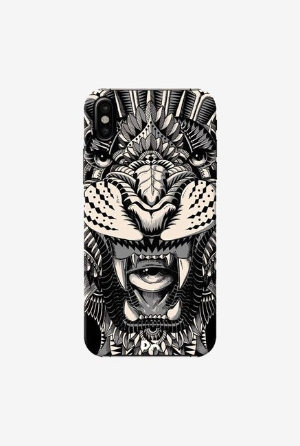 DailyObjects Eye of The Tiger Case Cover For iPhone XS