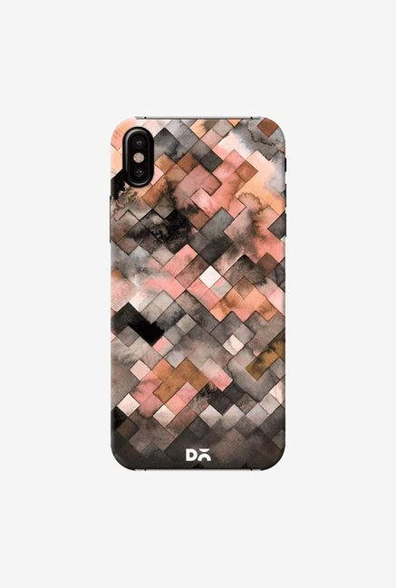 DailyObjects Beige Moody Geometry Case Cover For iPhone XS