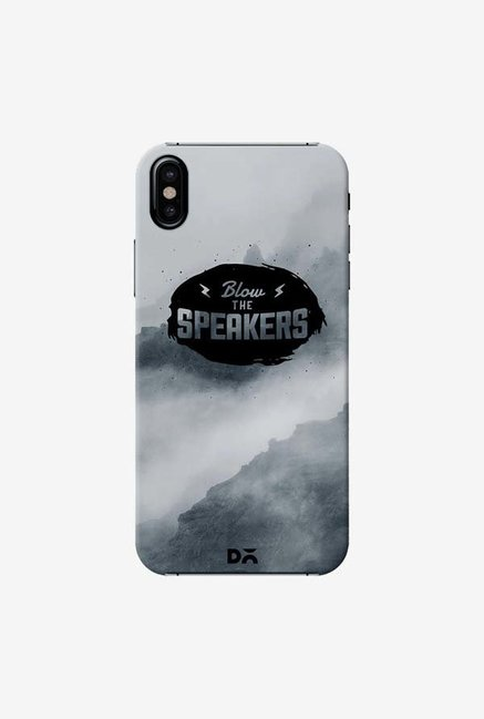 DailyObjects Blow The Speakers Case Cover For iPhone XS