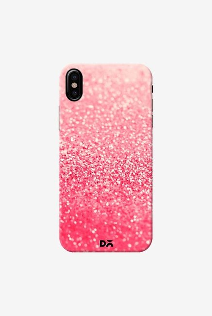 DailyObjects Gatsby Coral Case Cover For iPhone X