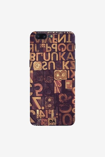 DailyObjects Typecase Case Cover For OnePlus 5