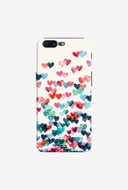DailyObjects Heart Connections Case Cover For OnePlus 5