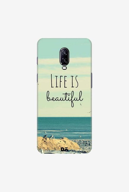 DailyObjects Life Is Beautiful Case Cover For OnePlus 6T