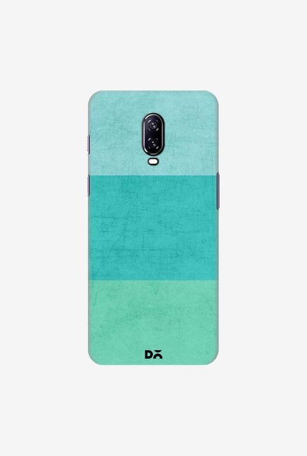 DailyObjects Three Stripes Teal Case Cover For OnePlus 6T