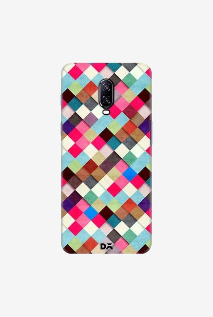 DailyObjects Ubrik Checker Case Cover For OnePlus 6T