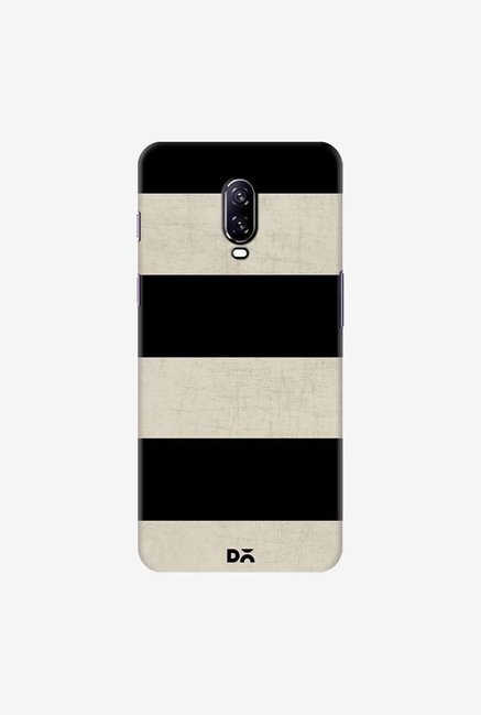 DailyObjects Vintage Black Stripes Case Cover For OnePlus 6T
