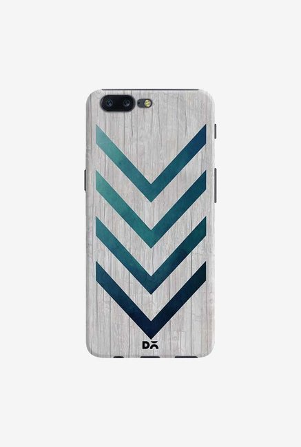 DailyObjects Blue Arrow Case Cover For OnePlus 5