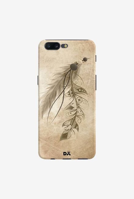 DailyObjects Bohemian Feather Case Cover For OnePlus 5