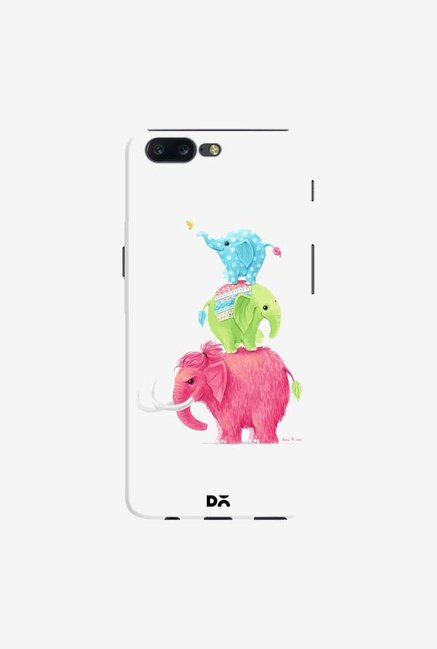 DailyObjects Candy Elephants Case Cover For OnePlus 5