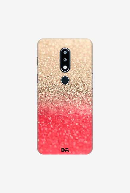 DailyObjects Gatsby Coral Gold Case Cover For Nokia 6.1 Plus
