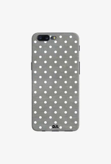 DailyObjects Dark Gray Swiss Dots Case Cover For OnePlus 5