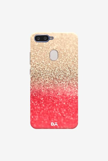 DailyObjects Gatsby Coral Gold Case Cover For Oppo F9 Pro
