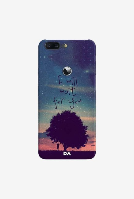 DailyObjects I Will Wait For You Case Cover For OnePlus 5T