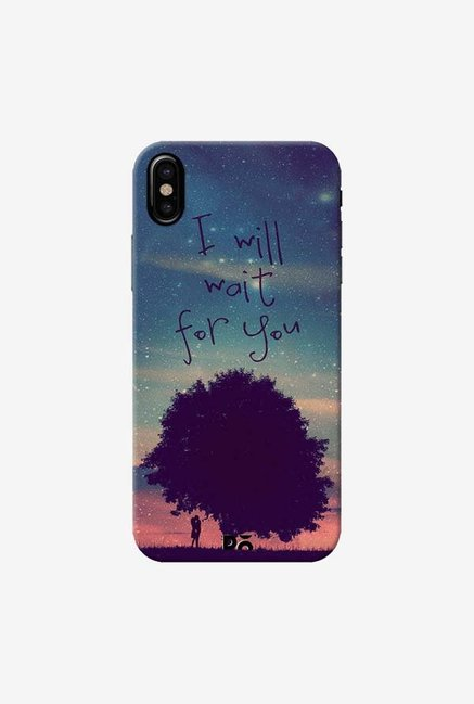 DailyObjects I Will Wait For You Case Cover For iPhone X